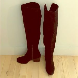 Melrose and Market Suede Over the Knee Boots